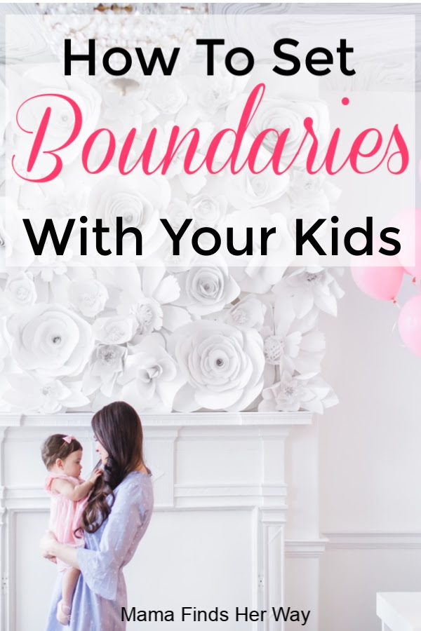 With baby setting mama boundaries appropriate How to